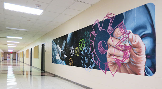 ... And Since Then Has Painted Numerous Schools Throughout The Area,  Including Other ISDs And Private Schools And Daycare Facilities. Part 55
